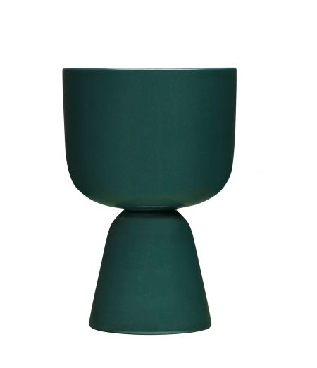 Puķu pods 230x155 mm tumši zaļš | dark green