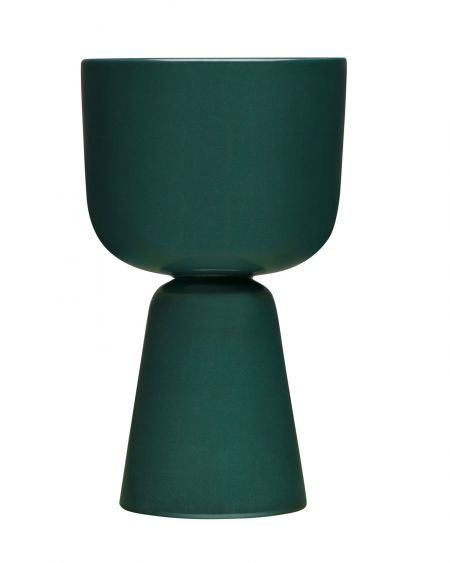 Puķu pods 260x155 mm tumši zaļš | dark green